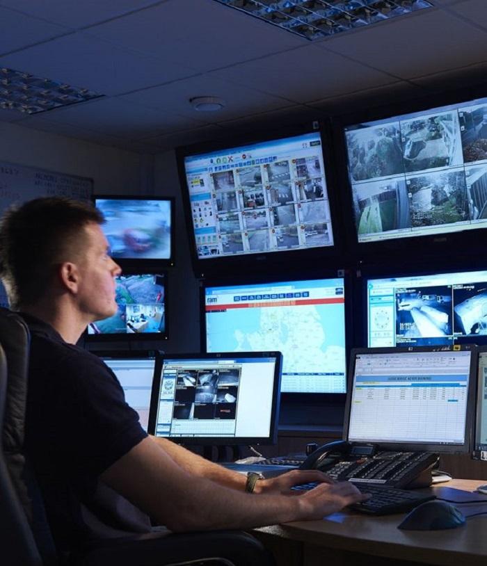 Security Monitors & Displays