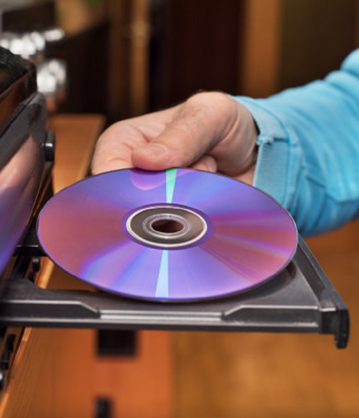 Blank DVD-RW Discs