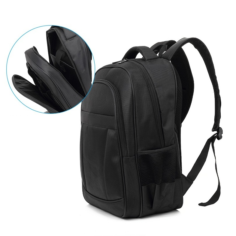 Kingslong Backpack Fits up to 15.6 Inch with One Tablet PC Compartment Waterproof Display Black - KLB1131350R