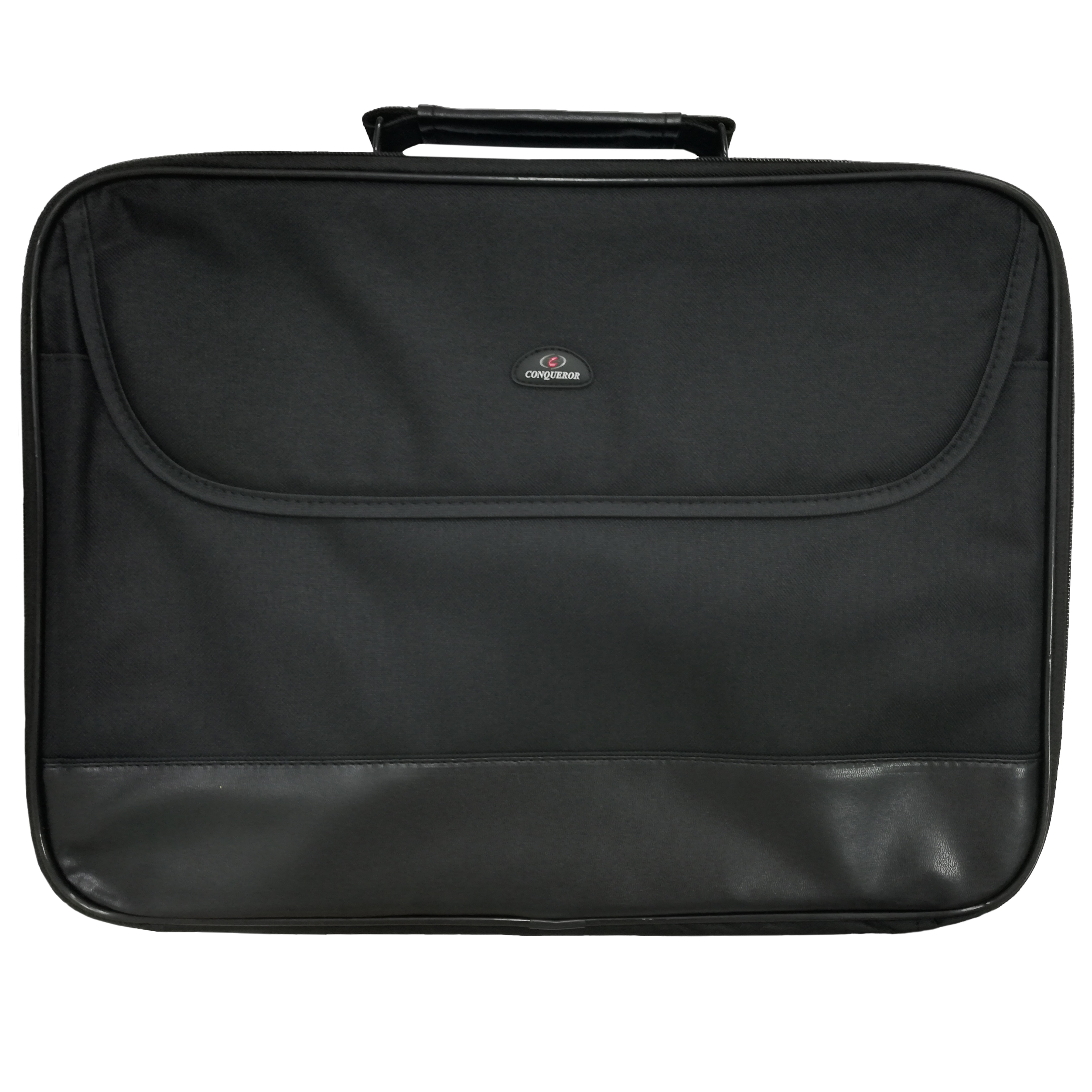 Conqueror Protective Laptop Bag Carrying Case with Shoulder Strap Fits Up to 16 Inch Display Black - C270