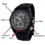 Spy Camera Watch DVR Video Recorder with Voice Recording and 4 GB Memory - SC26