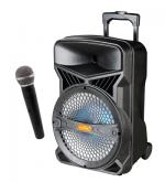 ADS Speaker Portable 12'' with 1 Microphones Bluetooth Radio USB - TCJ12A