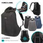 Kingslong Anti-Theft Hard Case Backpack Fits up to 15.6