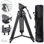Anyall Professional Tripod 360 degree Ball Head with Bag 8 Kg Load - AT9909