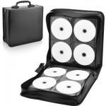 Donatello CD / DVD Case Storage Organizer Booklet 240 Capacity Black - 240