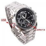 Spy Camera Watch DVR Video Recorder with Voice Recording and 4 GB Memory - SC33